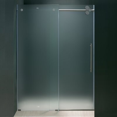 "74"" x 60"" Sliding Shower Door with Right Side Opening Product Photo"