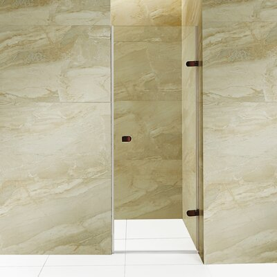 "Tempo 70.63"" x 22.25"" Frameless Shower Door Product Photo"