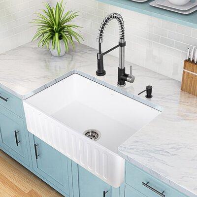 Edison Pull-Down Spray Kitchen Faucet by Vigo