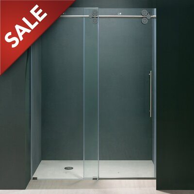 Frameless Sliding Shower Door Product Photo