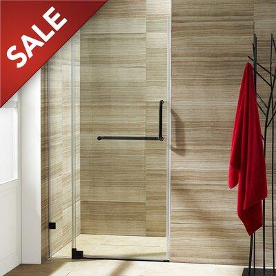 "Pirouette 72"" x 34.75"" Pivot Frameless Shower Door Product Photo"