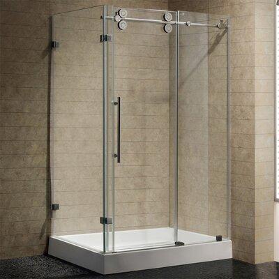 vigo shower base review by vigo sliding door frameless shower enclosure with base