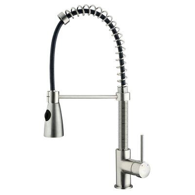 Modern One Handle Single Hole Pull Out Spiral Bar Faucet Product Photo