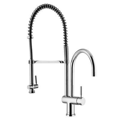 Two Handle Single Hole Pot Filler Kitchen Faucet Product Photo