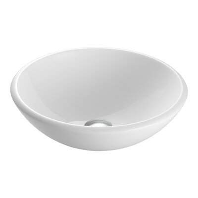 Stone Glass Vessel Bathroom Sink Product Photo