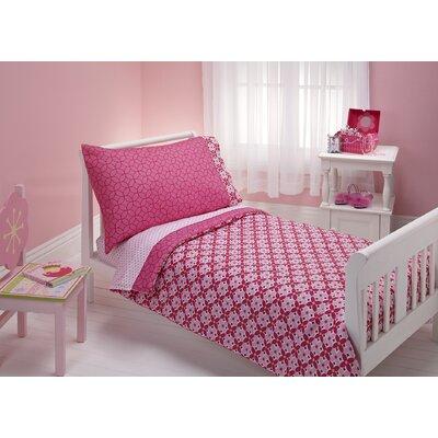 Kaleidoscope 4 Piece Toddler Bedding Set by NoJo