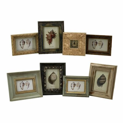 IMAX Eight Piece Seaside Assorted Picture Frame