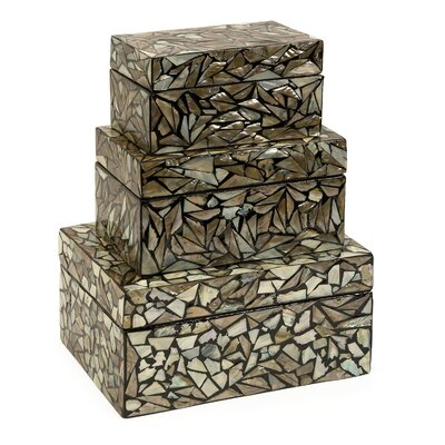 IMAX Neal Mother of Pearl Boxes