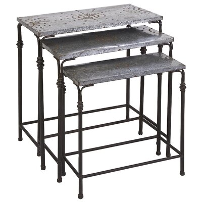 Gilbert 3 Piece Nesting Tables by IMAX