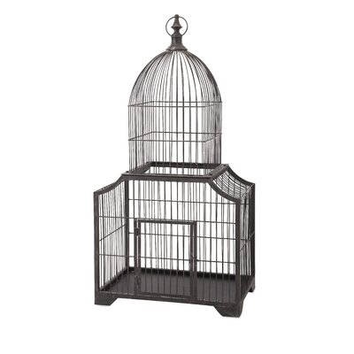 Huber Decorative Bird Cage by IMAX