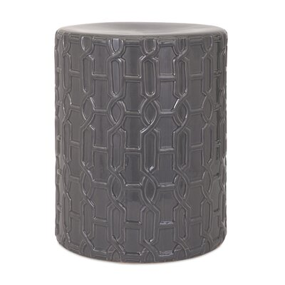 Essentials Reflective Stool by IMAX