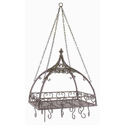 Domed Hanging Pot Rack by IMAX