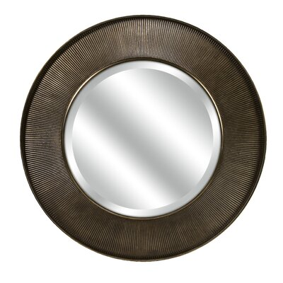 Harcourt Round Wall Mirror by IMAX