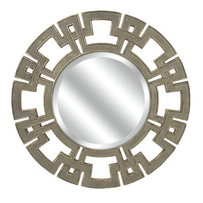 Gustave Round Wall Mirror by IMAX