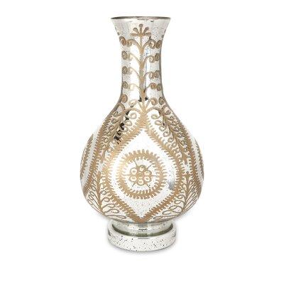 Carmina Oversized Etched Vase by IMAX