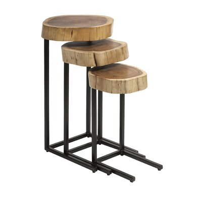 Nadera 3 Piece Nesting Tables by IMAX