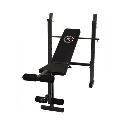 Renegade Narrow Economy Adjustable Olympic Bench by Troy Barbell