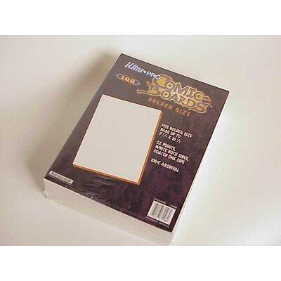 "Ultra Pro 7.5"" x 10.5"" Golden Age Comic Boards"