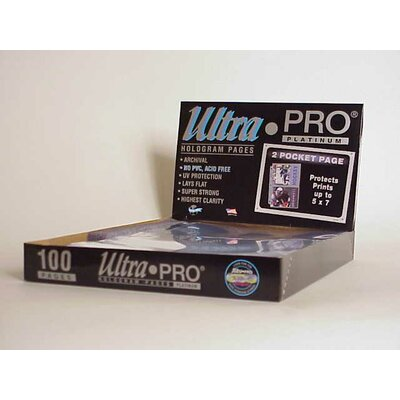 """Ultra Pro 5"""" x 7"""" Photos Display Box (2 Pocket Pages)"""