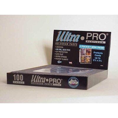 "Ultra Pro 2.5"" x 3.25"" Small Album Display Box (4 Pocket Mini Pages)"