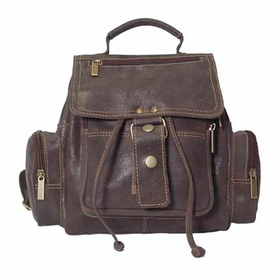 Mid-Size Top Handle Backpack by David King
