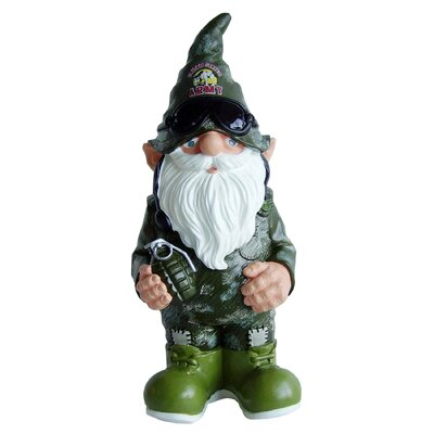 Team Beans US Armed Forces Gnome Statue