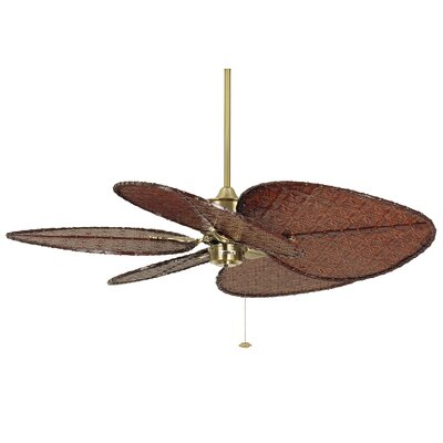 """52"""" Islander 5 Bamboo Blade Ceiling Fan Product Photo"""