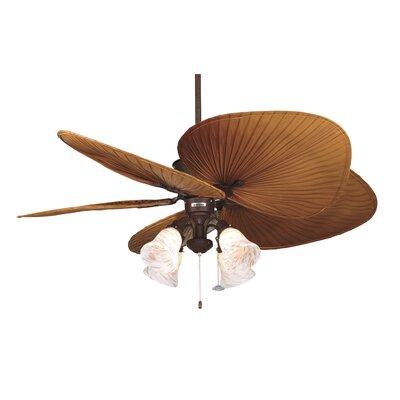 "Fanimation 52"" Islander 5 Palm Blade Ceiling Fan"