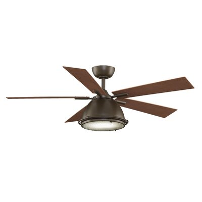 Breckenfield 5 Blade Ceiling Fan Product Photo