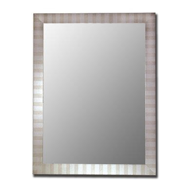 Hitchcock Butterfield Company Parma Silver Framed Wall Mirror