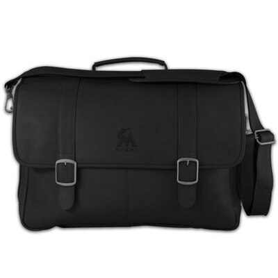 Pangea Brands MLB Porthole Leather Laptop Briefcase