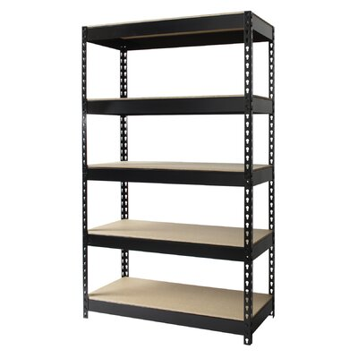 "CommClad Horse Rivet 60"" H 4 Shelf Shelving Unit Starter"