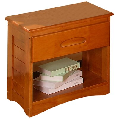 Discovery World Furniture Weston 1 Drawer Nightstand 2160