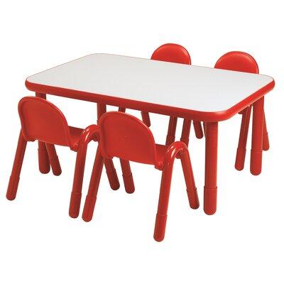 "Angeles Baseline 48"" x 30"" Rectangular Classroom Table"