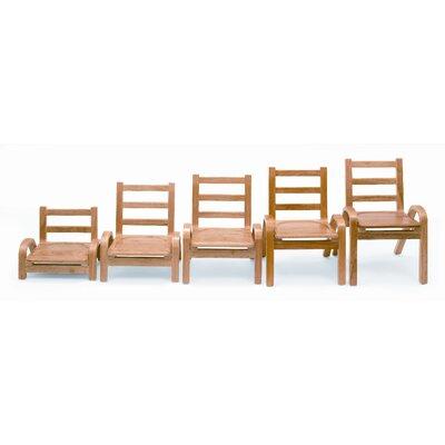 Angeles Wood Classroom Chair