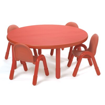 "Angeles 48"" Round Classroom Table"