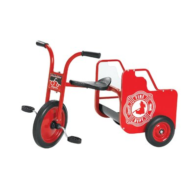 Angeles ClassicRider Fire Truck Tricycle AFB1400PR