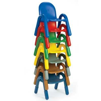 "Angeles BaseLine 9"" Plastic Classroom Chair"