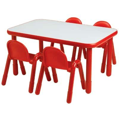 "Angeles Baseline 72"" x 30"" Rectangular Classroom Table"
