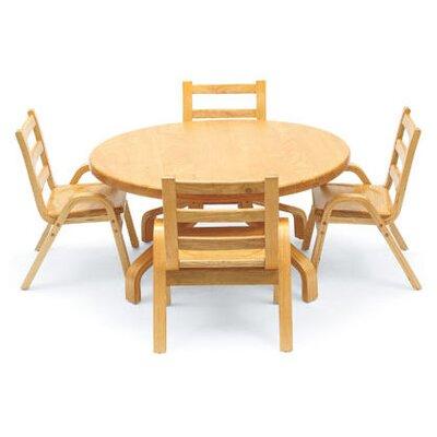 "Angeles 36"" Round Classroom Table"