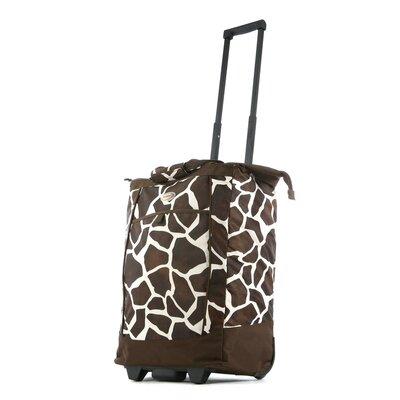 Fashion Giraffe Rolling Shopping Tote by Olympia