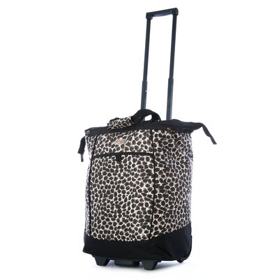 Fashion Leopard Rolling Shopping Tote by Olympia
