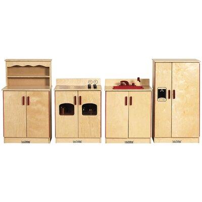 ECR4kids 4 Piece Kitchen Set