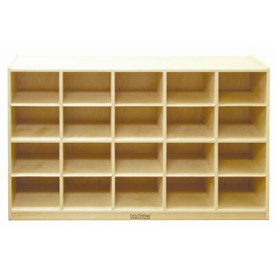 ECR4kids Cabinet 20 Compartment Cubby ELR 0426