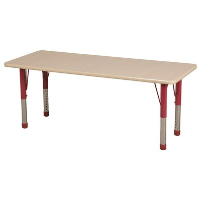 "ECR4kids 72"" x 24"" Rectangular Classroom Table"
