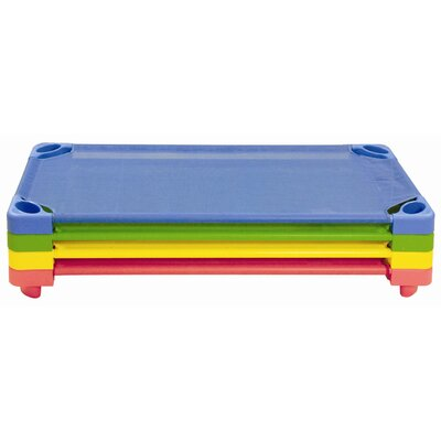 ECR4kids 4 Pieces Color Cots Ready to Assemble in Assorted