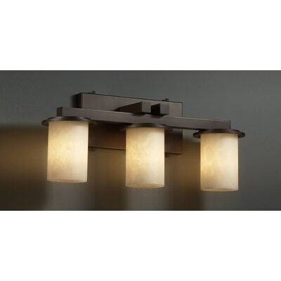 justice design group bathroom lighting justice design clouds dakota 3 light bath vanity 23570
