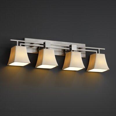 Justice Design Group Aero CandleAria 4 Light Bath Vanity Light