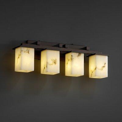 Justice Design Group LumenAria Montana 4 Light Bath Vanity Light
