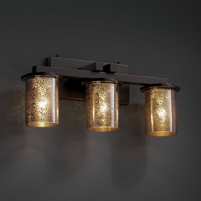 Fusion Dakota 3 Light Bath Vanity Light Product Photo